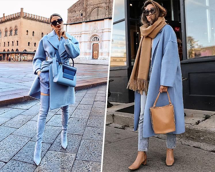 Удлиненное свободное осеннее пальто