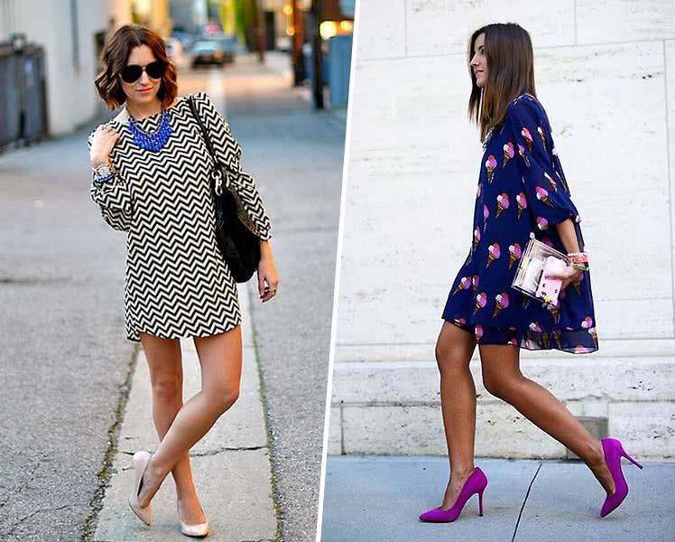 Какая обувь под короткое летнее платье