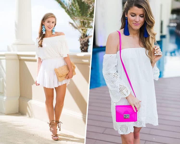 Какие украшения носить под летнее платье