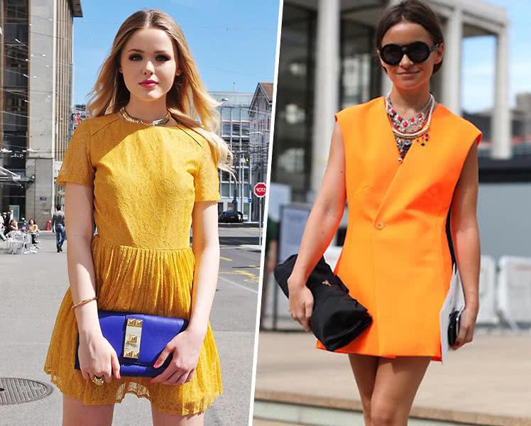 С чем носить летнее платье