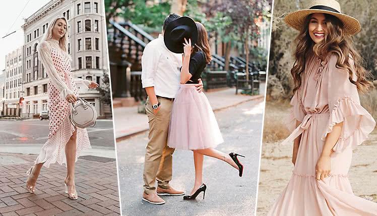 С чем носить летнее платье?