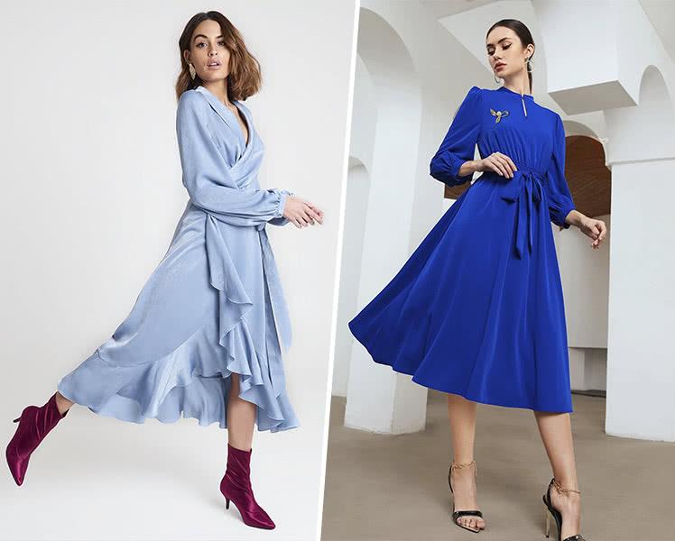 Цвет платья на Новый Год 2022