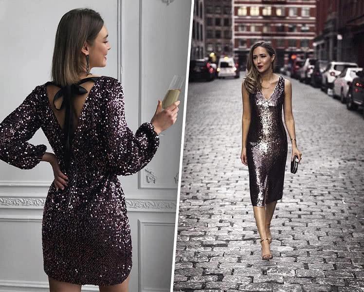Платье на новогодний корпоратив 2022