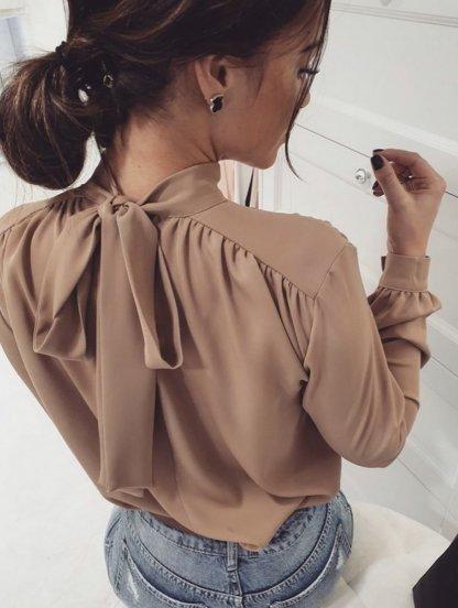 Женская классическая блуза, фото 1