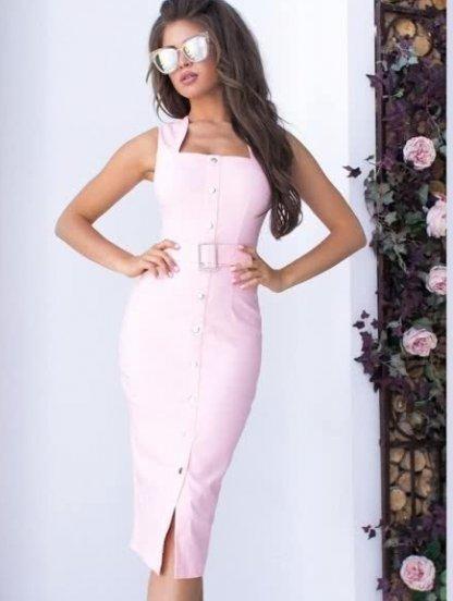 Молодежное платье в ретро стиле, фото 1