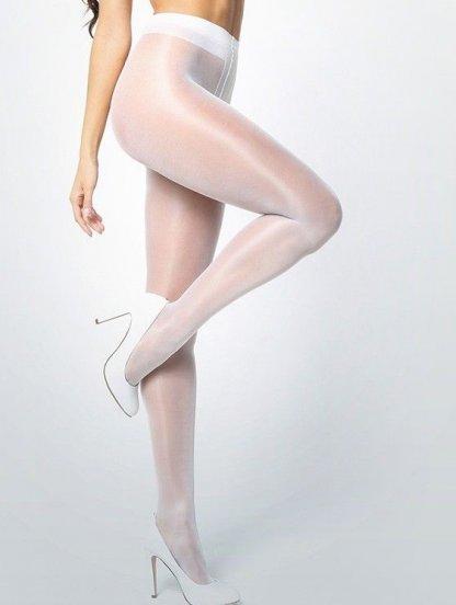 Белые женские колготки, фото 1