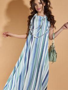 Повседневное длинное платье на лето