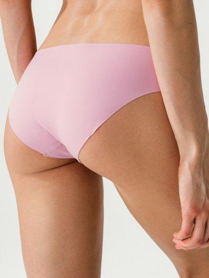 Розовые женские бесшовные трусы слипы, фото 1