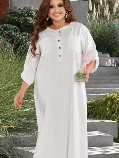 Белое платье для лета, фото 1