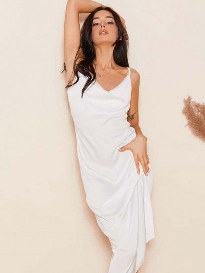 Платье комбинация на бретелях, 20% натурального шелка, фото 1
