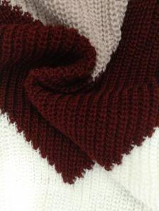 Зимний шерстяной свитер с мохером