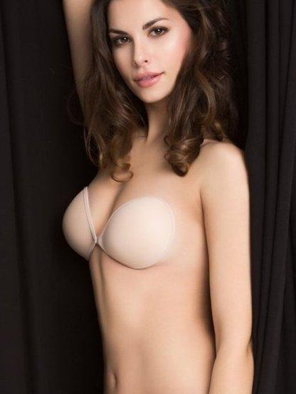 Бюстгальтер на клейкой основе под открытое платье с открытой спиной, фото 1