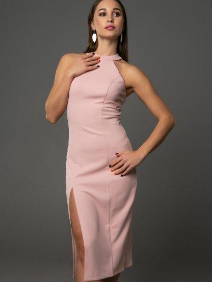 Светлое платье с открытой спиной на лето, фото 1