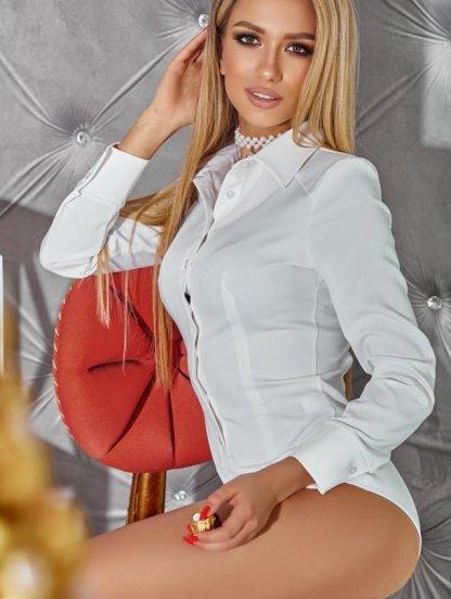 Белый женский боди, фото 1