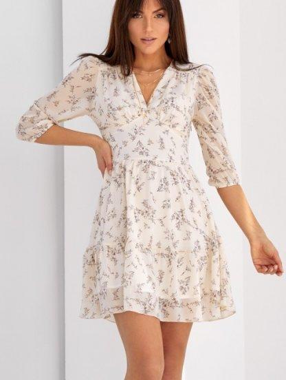 Летнее платье выше колен, фото 1