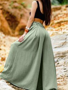 Хлопковые брюки-юбка Баунти
