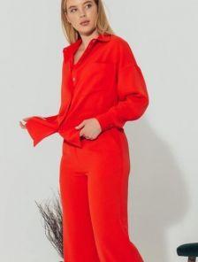 Летний женский хлопковый костюм с брюками и шортами