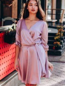 Легкое короткое платье