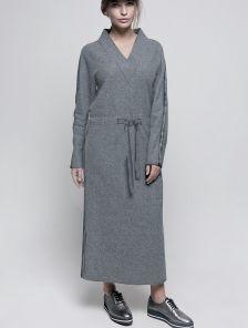 Теплое шерстяное платье, 70% шерсти