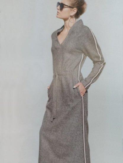 Теплое шерстяное платье, 70% шерсти, фото 1