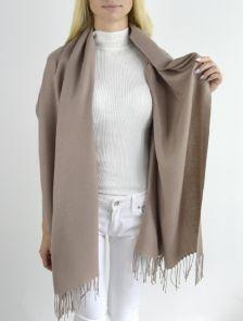 Теплый кашемировый шарф