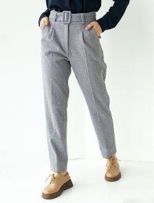 Стильные классические серые брюки