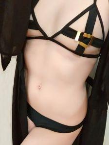 Эротичный прозрачный купальник бикини