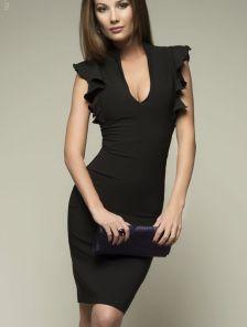 cccb29779b1 Элегантное платье-футляр черного цвета. Купить в Киеве • Интернет ...