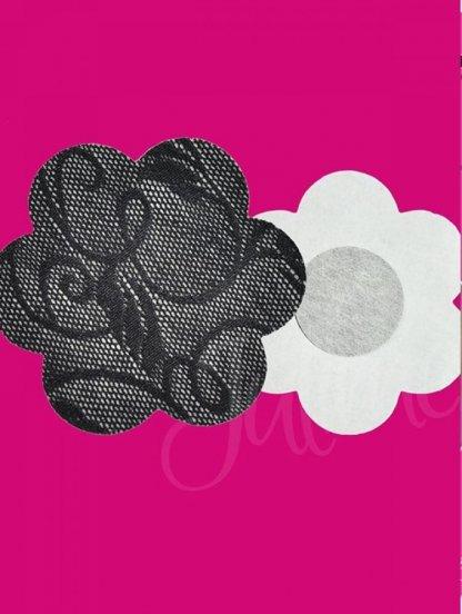 Кружевные наклейки на грудь для загара, фото 1
