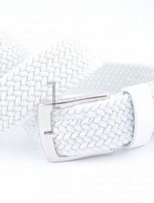 Белый пояс резинка унисекс 3,5 см