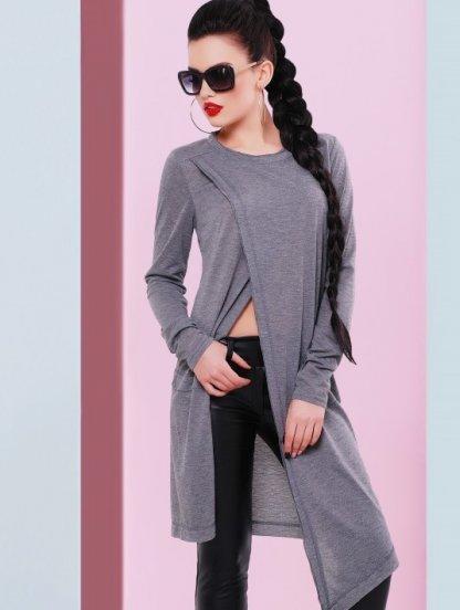 Дизайнерский свитер туника, фото 1