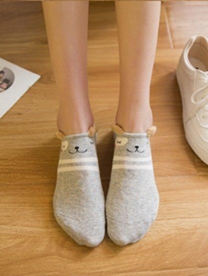 Необычные носочки с изображением мышки