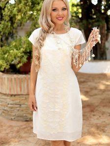 Короткое нарядное платье на лето