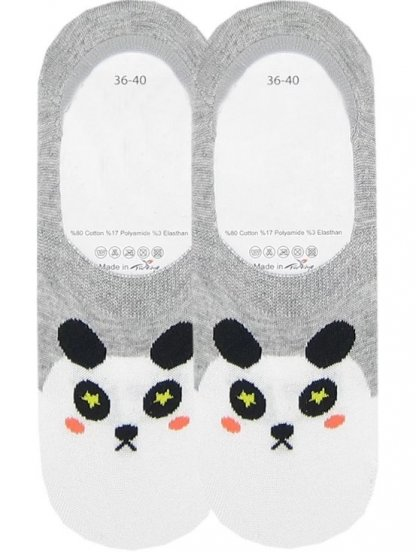 Носочки с изображением панды