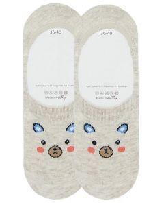 Носочки с изображением хомячка
