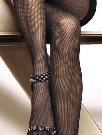 Элегантные женские колготки в сетку