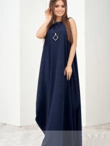 Повседневное длинное платье очень удобное по фасону