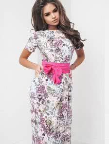 Длинное нарядное платье для лета