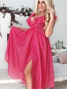 Летнее платье А силуета, отлично скрывает проблемные зоны