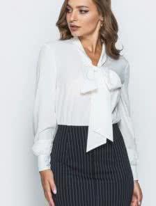 Платье-иммитация юбки с блузкой