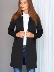 Женский удлиненный пиджак к брюкам