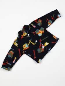 Детская теплая кофта на пуговичках