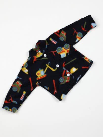 Детская теплая кофта на пуговичках, фото 1