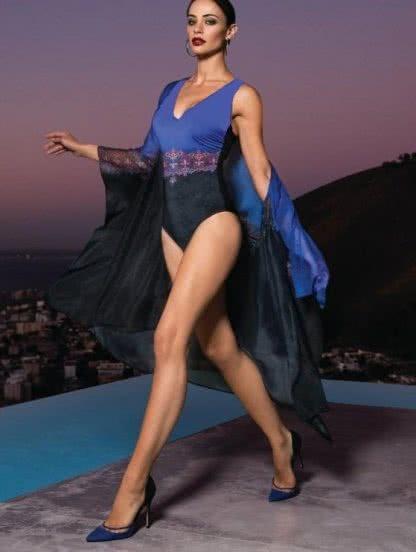 Цельный женский купальник для полных, фото 1
