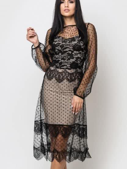 edc2b443ffa169d Вечернее платье длины миди. Купить в Киеве по цене 1 399грн ...