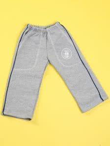 Детские утепленные штаны на резинке с полоской