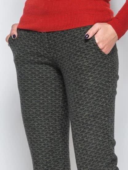 Шерстяные теплые брюки, фото 1