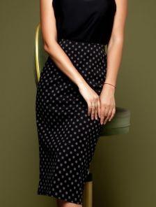 Стильная юбка для офиса, коллекция 2019
