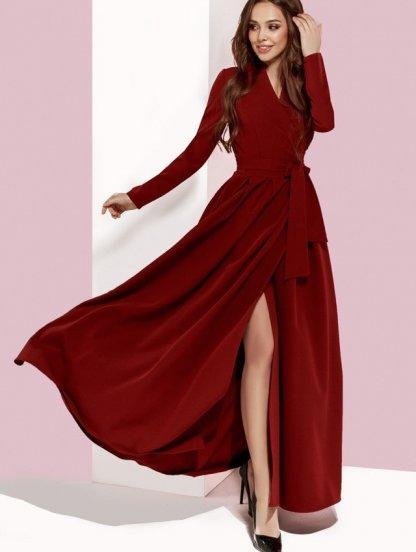 Нарядное вечернее платье в пол, фото 1