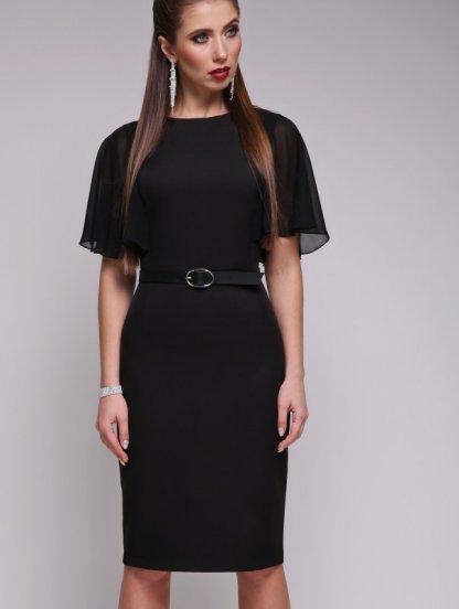 Вечернее облегающее платье до колена, фото 1